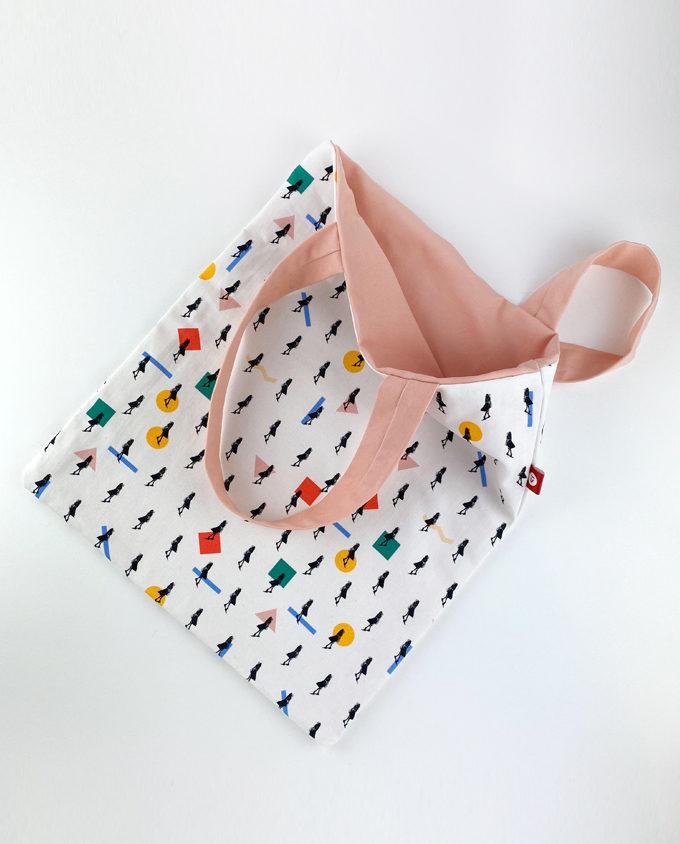 handmade shopping bag woman fashion