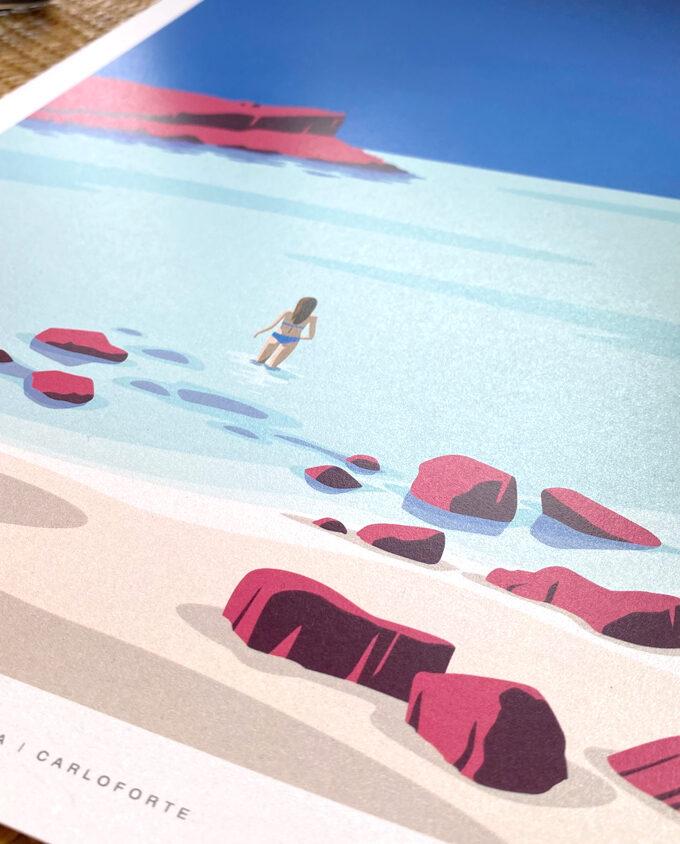 Carloforte_Spalmatore_isola-di-san-pietro_poster-illustration_travel-poster_travel