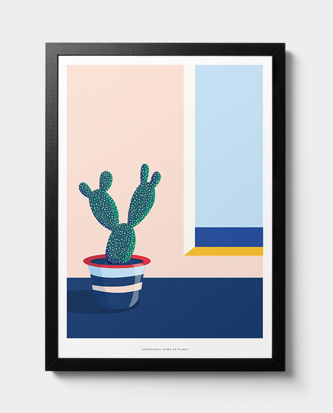 posters women room interior design wall art design plants cactus