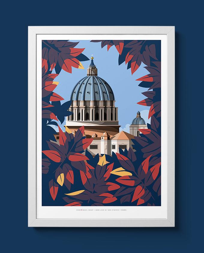 Illustrazione Cupola di San Pietro
