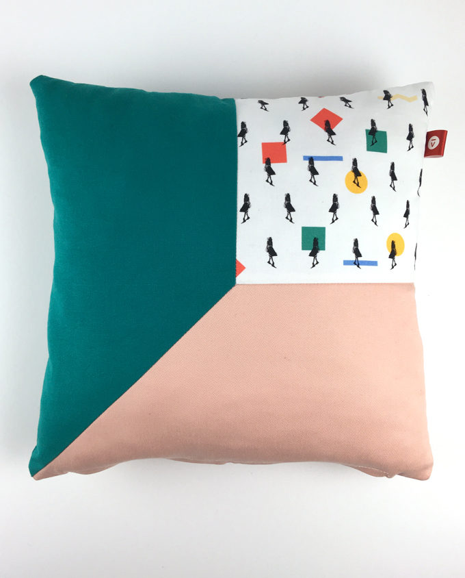 woman pillow for home room decoration art