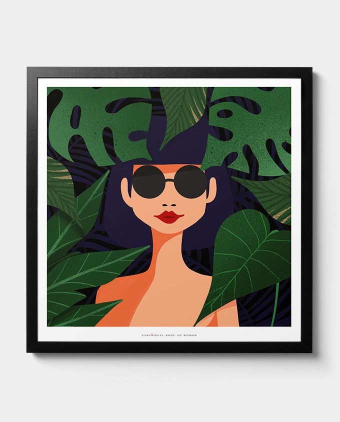 posters women room interior design wall art design woman