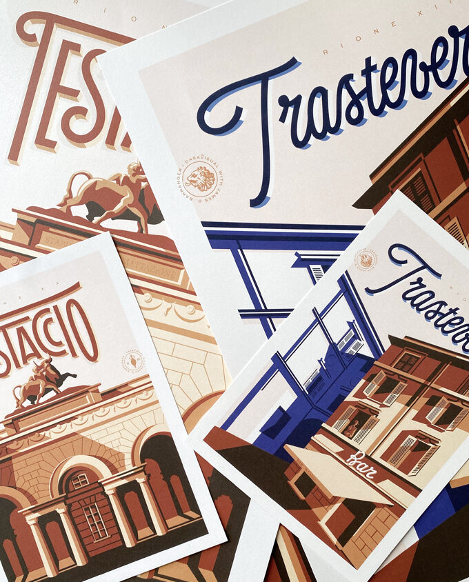 Illustrazioni limitate travel poster